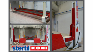 Stertil-Koni Installs Largest Platform Lift of Its Type in North America—Capacity 132,000 lbs.