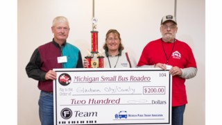 Top Bus Drivers Named in Michigan Small Bus Roadeo Competition