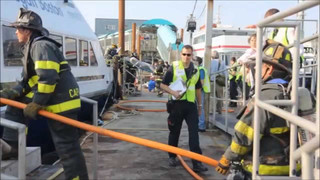 MBTA Commuter Ferry Evacuation Drill