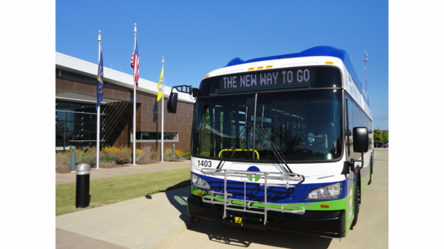 Transpo's First New Bus Arrives