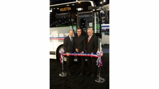 Prevost's First Coach Off the Plattsburgh Line Makes Its Appearance
