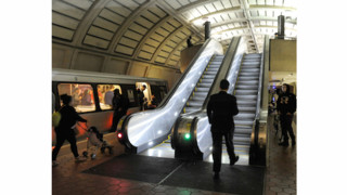 Metro Adds Two brand-New Escalators to System