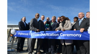 Officials Celebrate Opening of Englewood Flyover