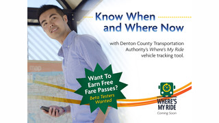 Denton County Transportation Authority Beta Testing New Where's My Ride Vehicle Tracking Tool Ahead of Launch