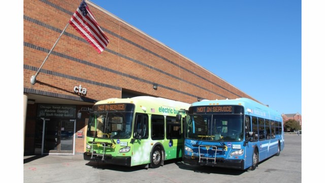 CTA Announces First Electric-Powered Buses Added to its Fleet