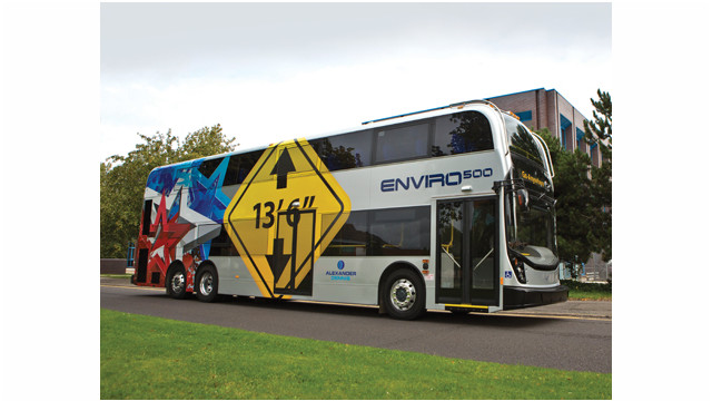 Alexander Dennis Announces $50M in Sales at Expo