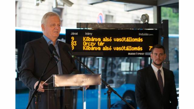 Official Handover of new AVL System for Budapest Transport