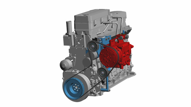 Trans/Air Announces Immediate Availability of a TM43 Mount & Drive Kit for M2 Freightliner Commercial Chassis with Cummins ISB 6.7L Engines
