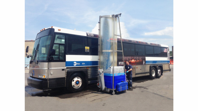 Bus Washing Made Easy!