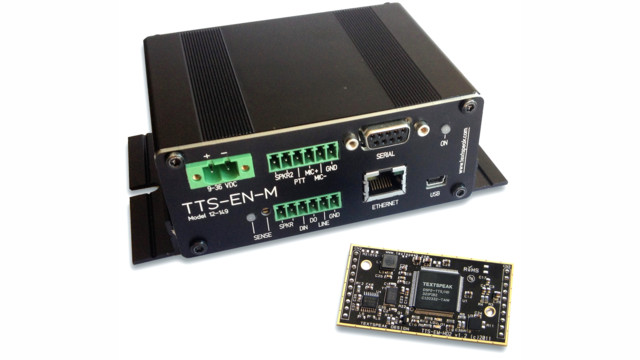Talking Audio Amplifiers Target ADA, Signage and Onboard Bus/Rail Systems