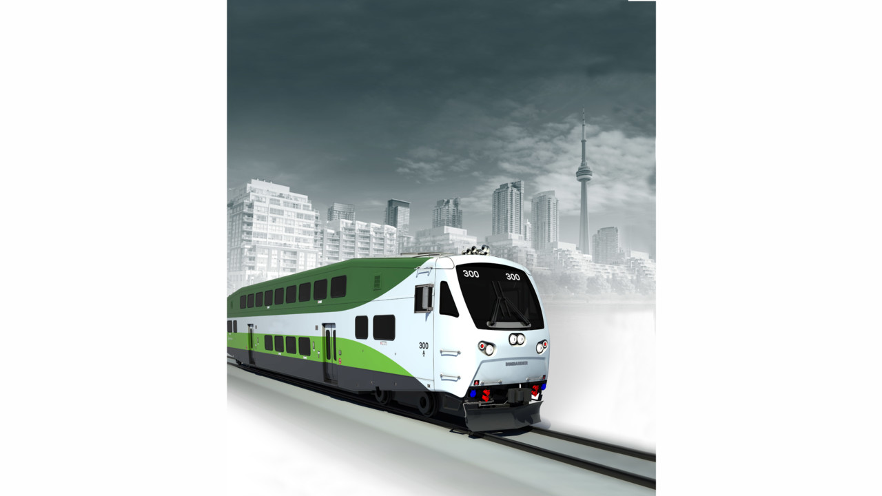 Bombardier Bilevel Commuter Rail Car Mass Transit