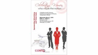 COMTO Celebrating Women Who Move the Nation Breakfast Awards Ceremony