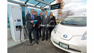 PowerStream unveils ABB fast charger, serving Greater Toronto Area