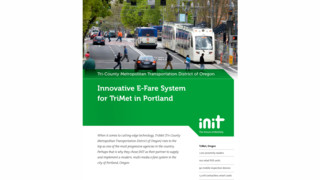 What's happening with Electronic Fare Systems today? TriMet: A case study.