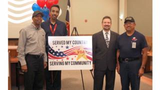 Veterans on Via's Workforce Honored
