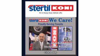Stertil-Koni Debuts Episode II of New Video Series: 'We Care: Proudly Serving Transits'