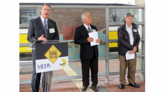 DART Rail Safety Campaign Urges 'See Tracks? Think Train!'
