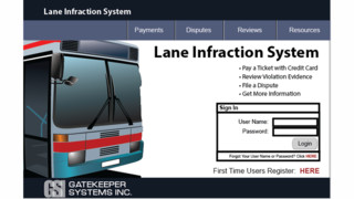 Lane Infraction System