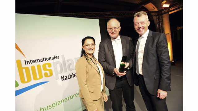 ZF Receives Award for Electrically Driven City Bus Axle
