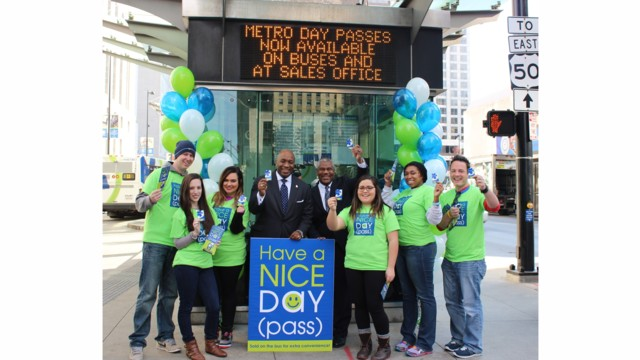 Cincinnati Metro's New Day Passes are Now Available on Buses and atSales Office
