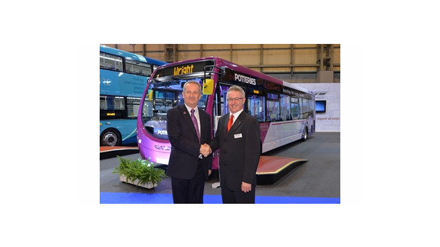 First Bus Passengers in the Midlands to Benefit from Groundbreaking Fuel Efficient Bus