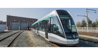 Alstom Citadis Tram Enters Into Service on Line T8 in the Ile-de-France Region