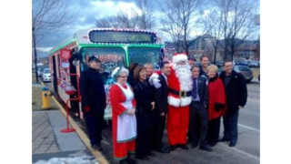 11 Annual Santa Sleigh Bus Benefits Salvation Army's Christmas Fund