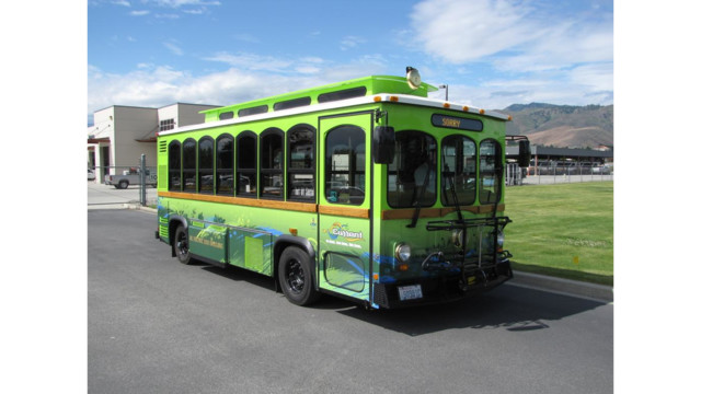 Link Transit launched Five Battery-electric Trolleys
