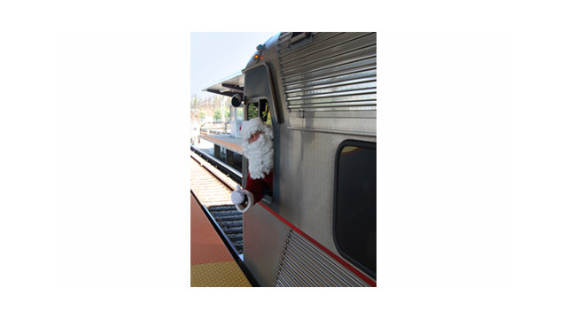 Holiday Fun Begins on PATCO
