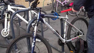 Is Your Bike Secure When You've Locked It at a station?