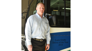 CU Transit Names 2014 Driver of the Year