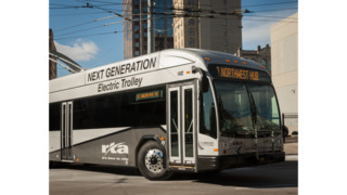 Dayton RTA Rolls Out Dual Powered Electric Vehicle