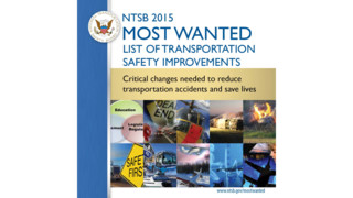 NTSB 2015 Most Wanted List