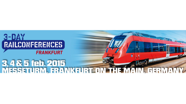 3-day Rail Conferences 2015