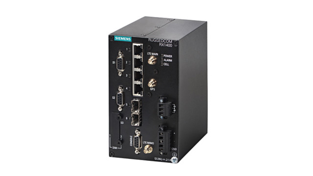 Siemens Launches Ruggedcom RX1400