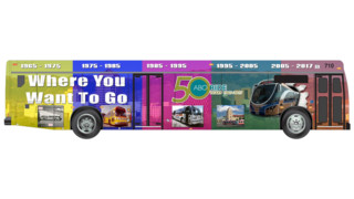 ABQ Ride Bus Showcases 50 Years of Albuquerque Transit