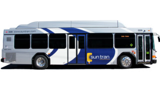 Sun Tran Introduces 5 CNG Buses