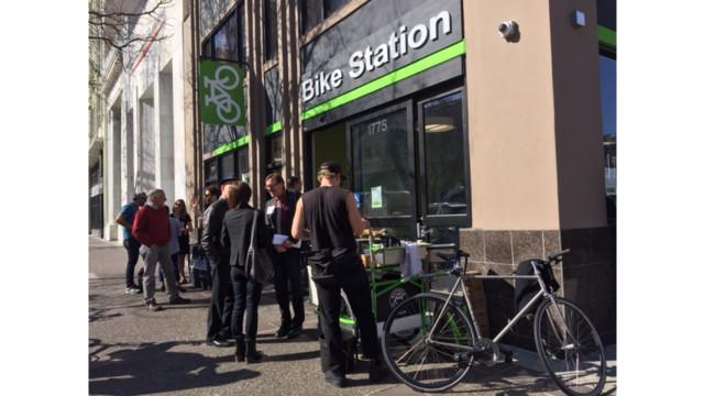 Uptown Oakland Bike Station opens
