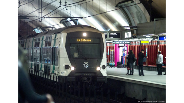 Alstom Bombardier Consortium to Supply 10 Trains in Paris