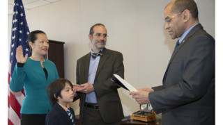 T. Bella Dinh-Zarr Sworn in as NTSB Member