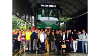 BYD's Pure Electric Bus Successfully Tested in Colombia