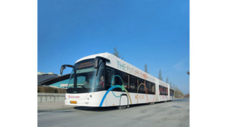 Hess/Vossloh Double Artic Buses Begin Operations