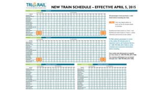 Tri-Rail Airport Station Opens April 5