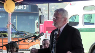 Metro Holds Leahy Division 3 Dedication Ceremony