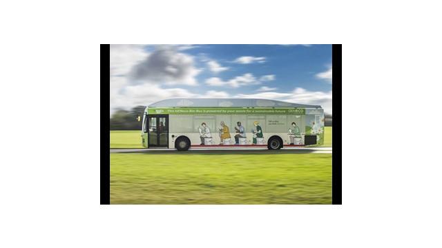 UK's First Biomethane Bus to Operate in Bristol