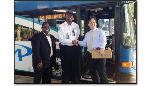 PSTA Drivers Enjoy Special Thanks From Officials and Riders