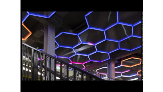 MTA Arts & Design: Hive (Bleecker Street) by Leo Villareal