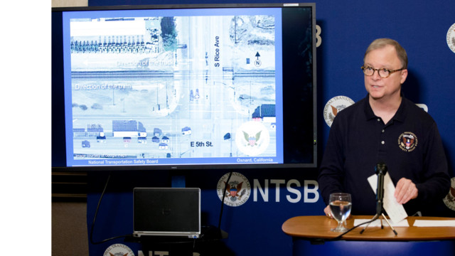 NTSB Member Robert Sumwalt's Third Briefing on the Metrolink Grade Crossing Accident in Oxnard