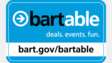 Website Highlighting BARTable Destinations Launched
