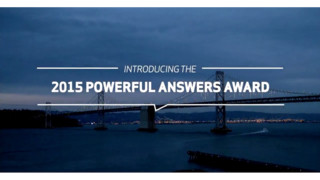 Verizon Kicks Off of 2015 Powerful Answers Award